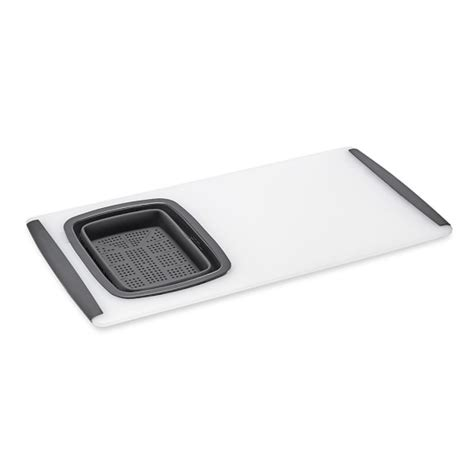 over the sink cutting board with strainer williams sonoma over the sink strainer cutting board