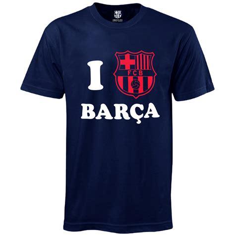 t shirt kaos barcelona fc fc barcelona official football soccer gift i barca