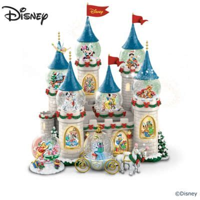 Disney Traditions Cinderella Water disneys at the castle miniature snowglobe collection