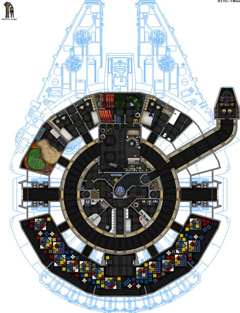 millenium falcon deck plans u cec yt 1300 millenium falcon sl by colonialchrome on