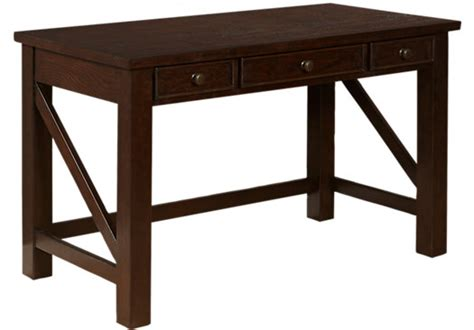 Clubhouse Chocolate Brown Desk Contemporary