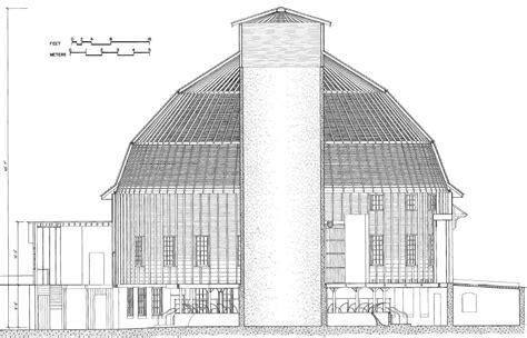 Barns Designs File To Scale Cutaway U Of I Round Barn Jpg Wikimedia