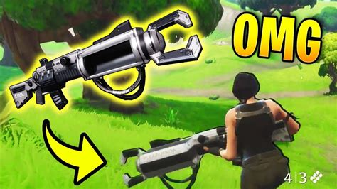 fortnite zapatron sniper rarest weapon in fortnite was found zapotron sniper