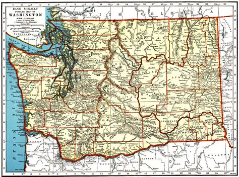 map  north eastern washington state  travel