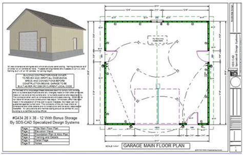 Garage Conversion Floor Plans apartment garage plans sds plans