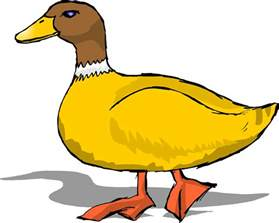 duck images cartoon clipart