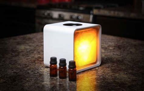 zencube app enabled himalayan salt lamp  aroma