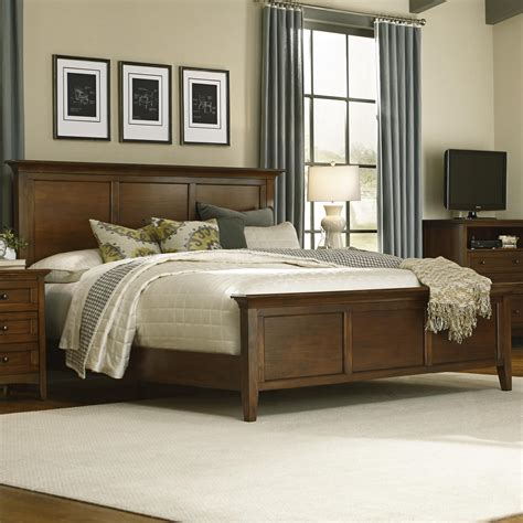 king panel bed king panel bed by aamerica wolf and gardiner wolf furniture