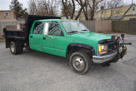 how it works cars 1994 gmc 3500 free book repair manuals find used 1994 gmc 3500 crew cab dump truck in wyandanch new york united states for us 7 500 00