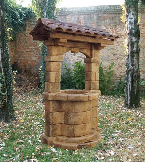 pozzo giardino pozzo brenta con tetto pozzi decorativi da giardino r