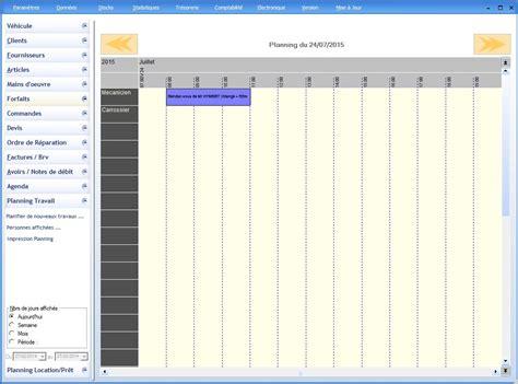 garage planning agenda et planning logiciel garage