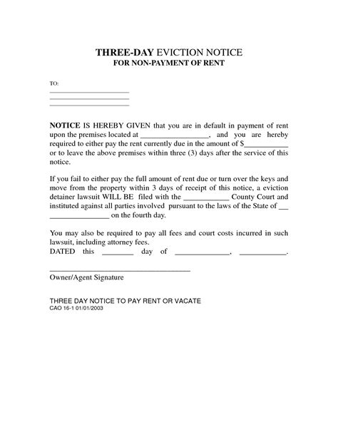 Rent Letter For Winz Best Photos Of 3 Day Eviction Notice 3 Day Eviction Notice Template 3 Day Eviction Notice