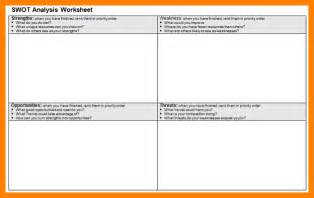 9 swot analysis worksheet monthly budget forms