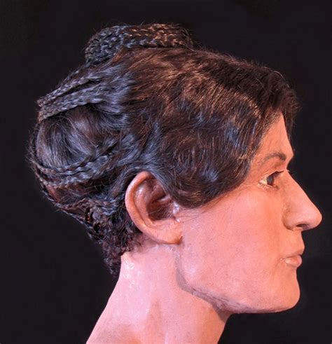 information on egyptain hairstlyes for men and women ancient egyptian mummy s elaborate hairstyle recreated in