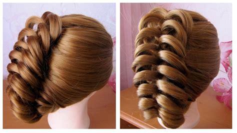tuto coiffure simple cheveux coiffure facile a