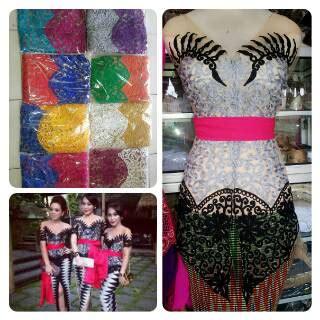 Setelan Kebaya Tille Stik Bali New Mint anjani kebaya bali