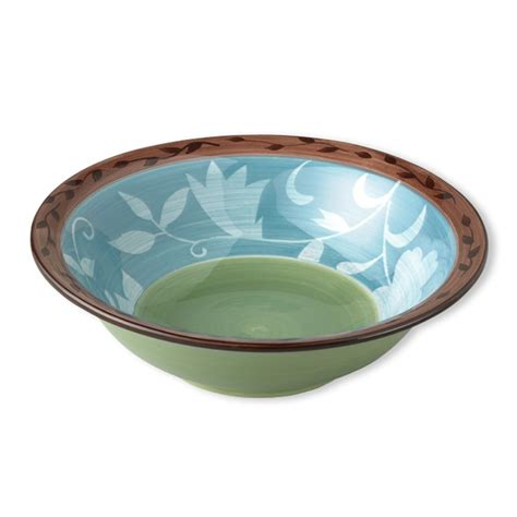 patio bowl patio garden serving bowl bowls and dinnerware pfaltzgraff