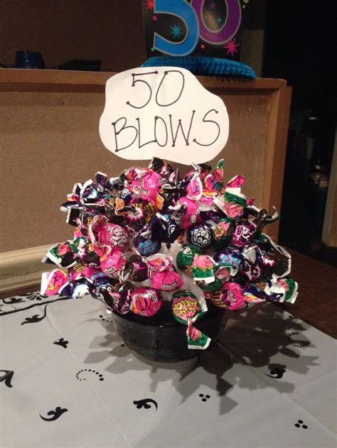 50 blows bouquet for a 50th birthday gift 50th