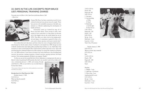 bruce lee biography resume bruce lee workout routine book sport fatare