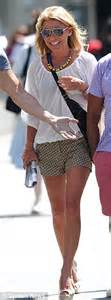 kelly ripa in shorts out and about in new york hawtcelebs kelly ripa 41 shows off her toned legs and pert bottom