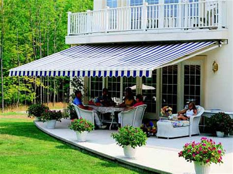 Patio Sun Awnings Awnings For Patios And Exterior Windows Bay Screens