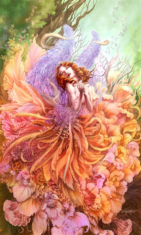 zyla pixie spring artists fairy queen spring by zachlost on deviantart