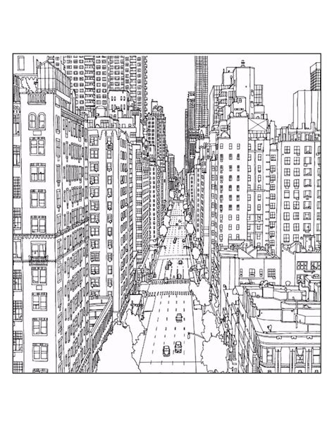 coloring page  york city  coloring pages