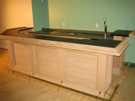 Maple Bar Top by Custom Bars Bluelabelcustoms