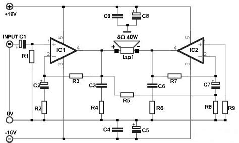 tda2030a lifier diagram simple lifier diagram