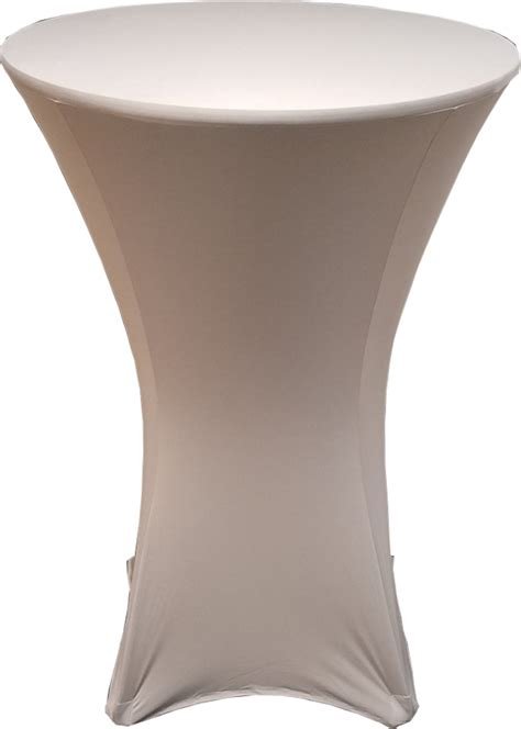 spandex highboy table cover silver 30 inch spandex highboy table cover