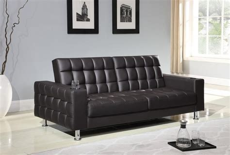 Brown Faux Leather Sofa Bed by Living Room Sofa Beds Brown Faux Leather Sofa Bed