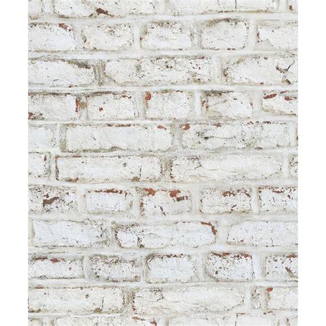 Papier Peint Brique Blanche 3751 by Papier Peint Lutece Brique Sabl 233 E Coloris Blanc Papier