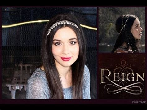 reign hair tutorial reign makeup and style tutorial mary queen of scots