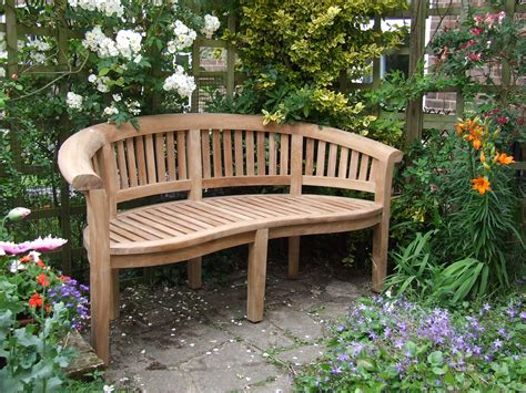 natural wood garden bench concrete garden benches inspiration furniture natural look wooden curved backseat