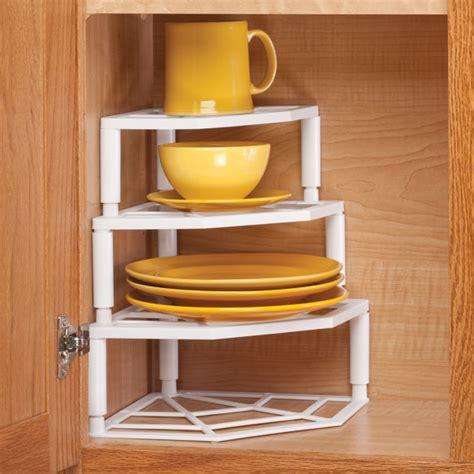 multi tier corner cabinet organizer corner organizer