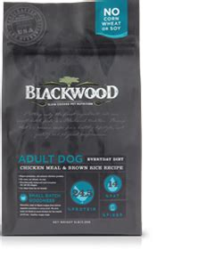 Blackwood All Stage Chicken Meal With Field Pea Grainfree everyday diet blackwood pet food