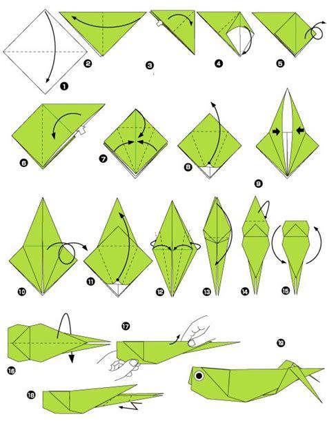Origami Grasshopper - sauterelle en origami origami search