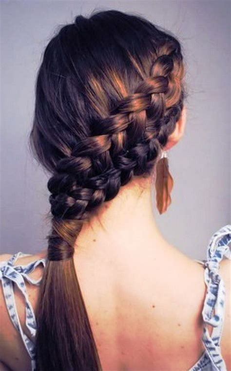 hairstyles for daily school cute hairstyles for long hair for school