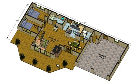 big floor plan big delta log cabin floorplans