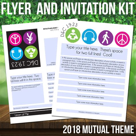 S Day Theme 2018 2018 Theme Flyer And Invitation Symbol