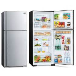 Mitsubishi Electric Fridge Refrigerators 2 Door Fridges Top Mount 400 Litre Plus