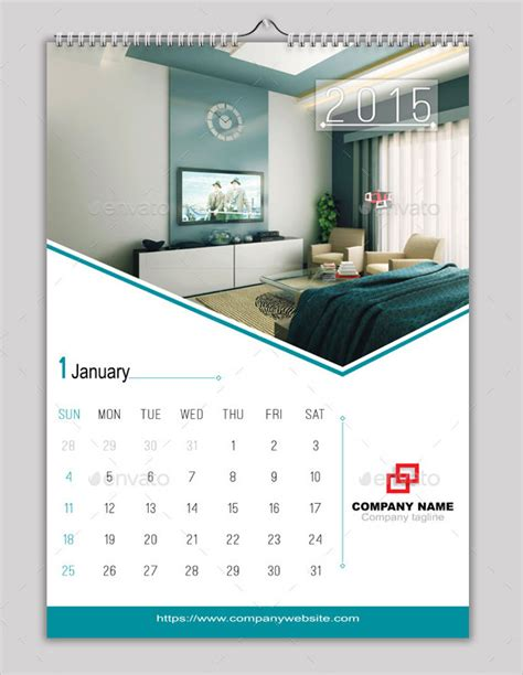 Calendar Indesign Template indesign calendar template 9 premium sle