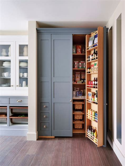 stand  pantry cabinets traditional style  kitchen