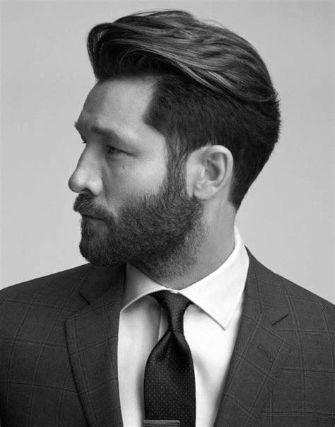 mens hairstyle with beard 50 hairstyles for with beards masculine haircut ideas
