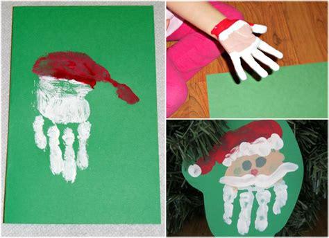 Basteln Zur Weihnachtszeit Mit Kindern 6011 by Handabdruck Zu Weihnachten Nikolaus Kinder Kindergarten