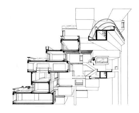 habitat 67 floor plans safdie architects habitat 67