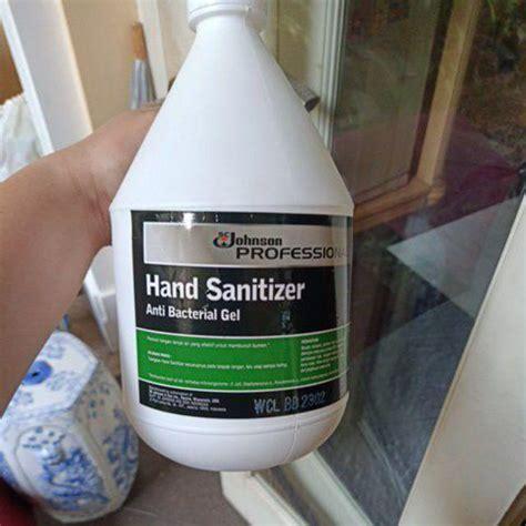 hand sanitizer  liter antiseptic handsanitizer sc johnson gel shopee indonesia