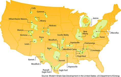 united states shale map new hydraulic fracturing locations in us