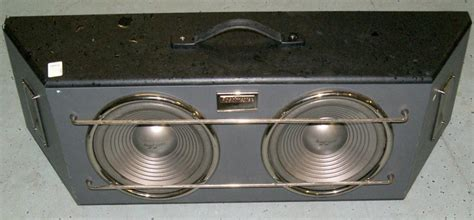 Speaker Roadmaster 2 10 Quot Roadmaster Speakers W Custum Box