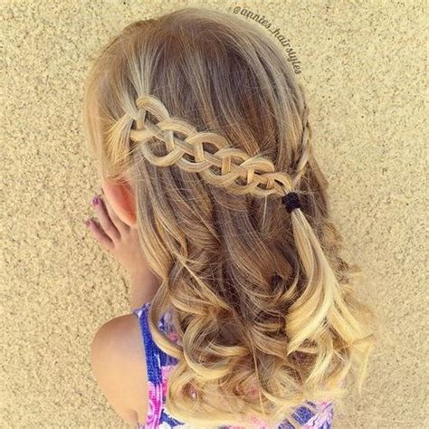 Toddler Braided Hairstyles by 20 Adorable Toddler Hairstyles